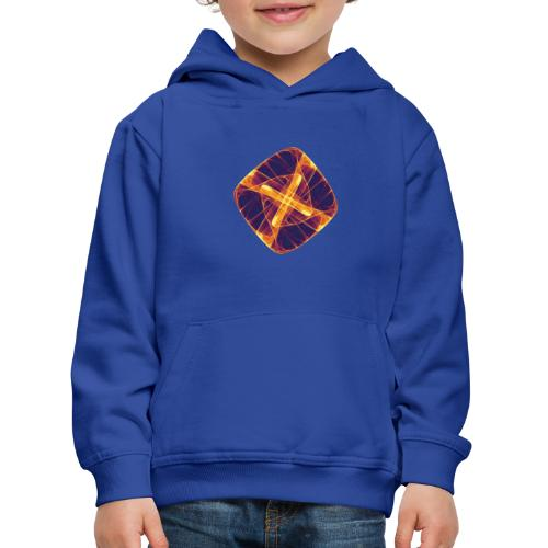 Chakra Mandala Mantra OM Chaos Stern Kreis 12255i - Kinder Premium Hoodie