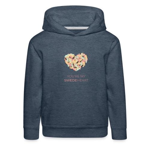 SWEDEheart - Premium-Luvtröja barn