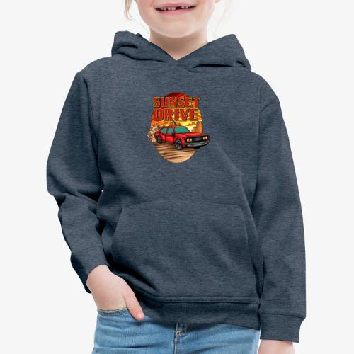 Sunset Drive - Kinder Premium Hoodie
