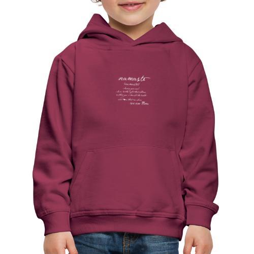 Yoga Namaste - Kinder Premium Hoodie