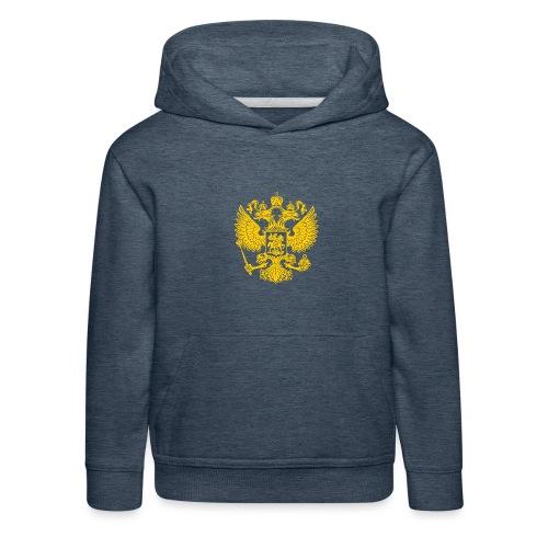 Russia Adler GOLD - Kinder Premium Hoodie