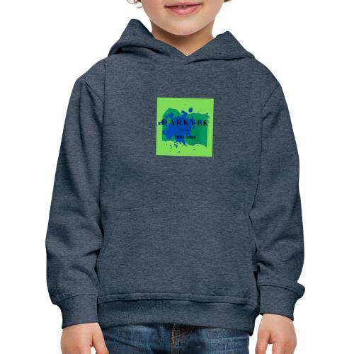 darkyek design green - Sudadera con capucha premium niño
