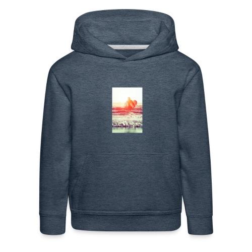 sunset surf jpg - Kids' Premium Hoodie