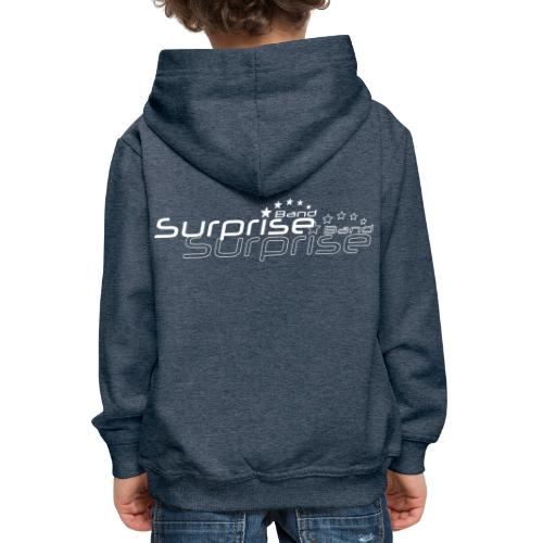 Logo Suprise Band mit Cut-Out - Kinder Premium Hoodie