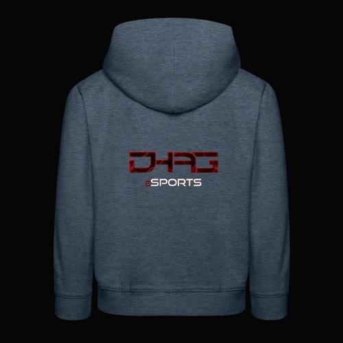Hoodie Kinder DHAG Logo - Kinder Premium Hoodie