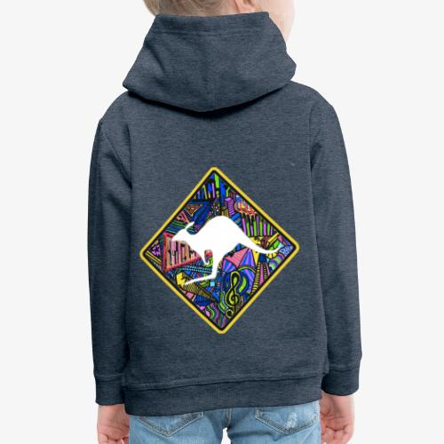 kangourou - Pull à capuche Premium Enfant