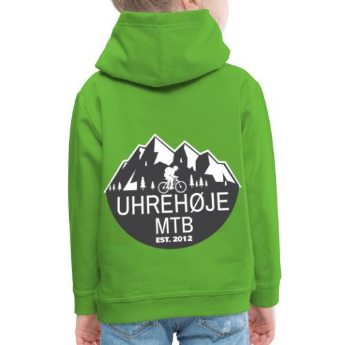UhreHøje MTB - Premium hættetrøje til børn