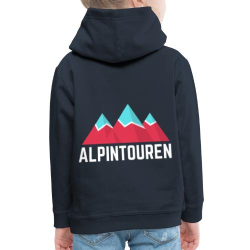 Alpintouren Logo - Kinder Premium Hoodie