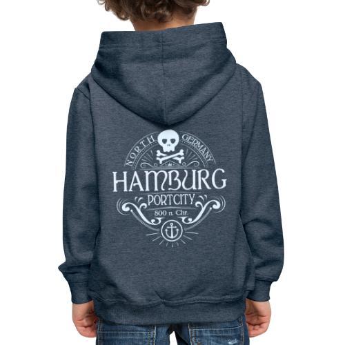 Hamburg Hafenstadt - Kinder Premium Hoodie