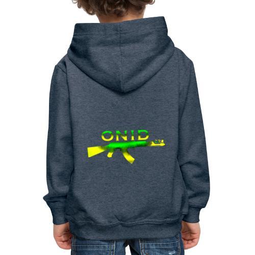 ONID-22 - Felpa con cappuccio Premium per bambini