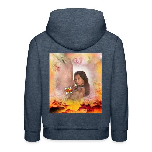 Herbstsinfonie - Kinder Premium Hoodie