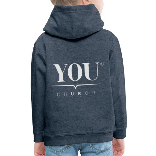 YOU Church (weiss) - Kinder Premium Hoodie