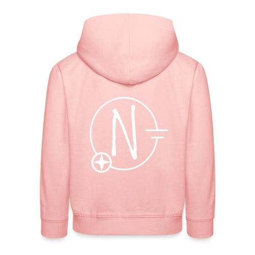 Nerdpol Logo White - Kinder Premium Hoodie