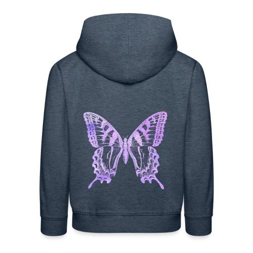 Watercolor Butterfly - Pull à capuche Premium Enfant