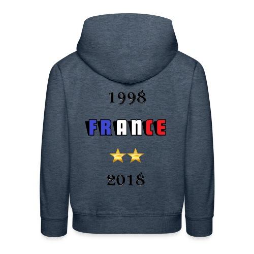 France 1998 2018 - Pull à capuche Premium Enfant