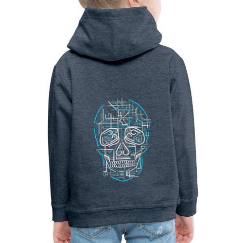 electric skull tshirt ✅ - Kinder Premium Hoodie