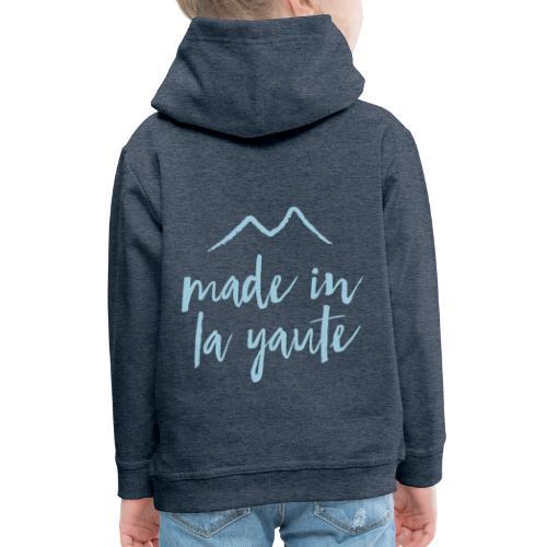 Made in la yaute - Pull à capuche Premium Enfant