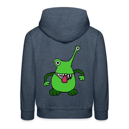 Lustiges Monster von roadtripgirl.ch - Kinder Premium Hoodie