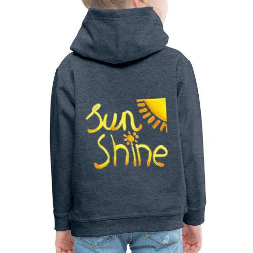 Sunshine - Kinderen trui Premium met capuchon