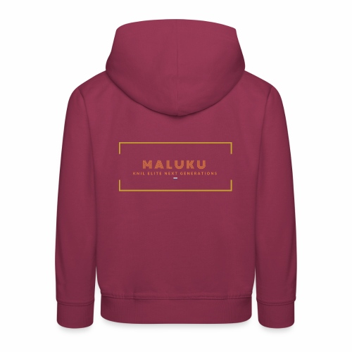 MALUKU KNIL ELITE NEXT GENERATIONS - orange - Kinderen trui Premium met capuchon