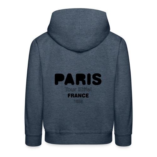 Paris FRANCE - Pull à capuche Premium Enfant