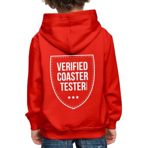 Badge CoasterTester vérifié - Pull à capuche Premium Enfant
