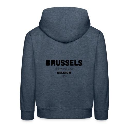 Brussels BELGIUM - Pull à capuche Premium Enfant