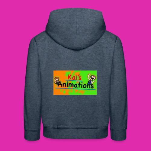 kai's animations logo - Kids' Premium Hoodie