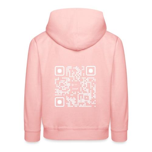 QR - Maidsafe.net White - Kids' Premium Hoodie
