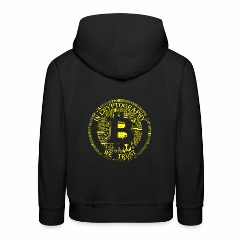 In cryptography we trust 2 - Kids' Premium Hoodie
