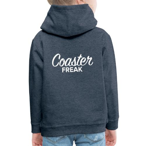 Coaster Freak Script - Pull à capuche Premium Enfant