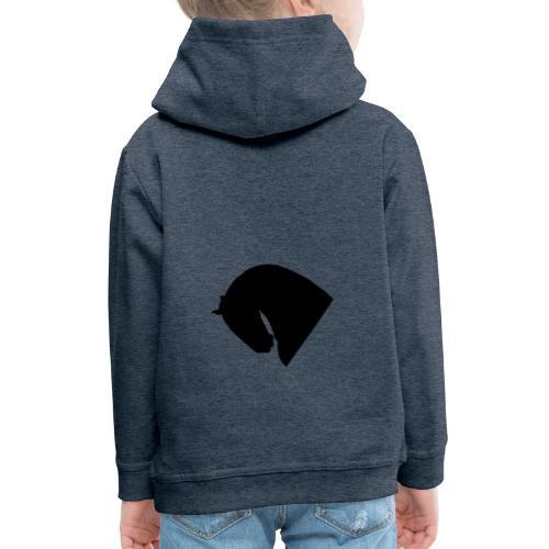 Cavallo - Felpa con cappuccio Premium per bambini