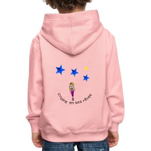 La tête dans les étoiles - Pull à capuche Premium Enfant