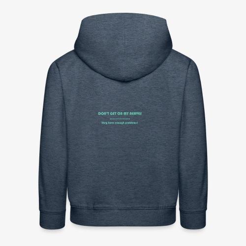 Neuralgia trójdzielna - Bluza dziecięca z kapturem Premium
