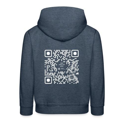QR The New Internet Should not Be Blockchain Based W - Kids' Premium Hoodie