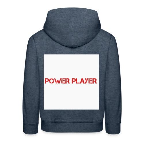 Linea power player - Felpa con cappuccio Premium per bambini