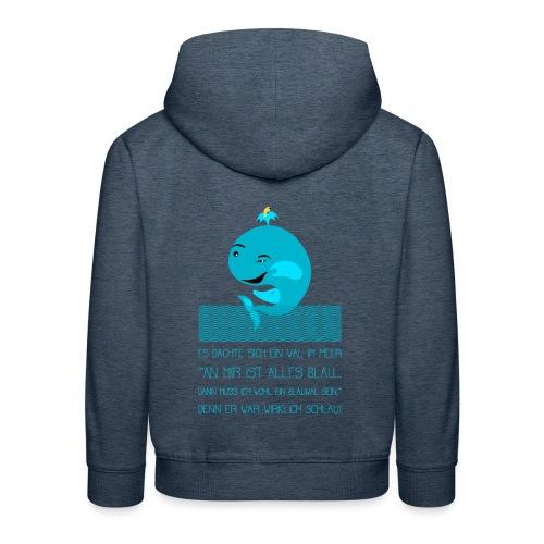 Blauwal - Kinder Premium Hoodie