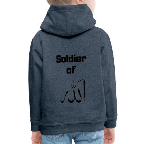 soldier of Allah - Kids' Premium Hoodie