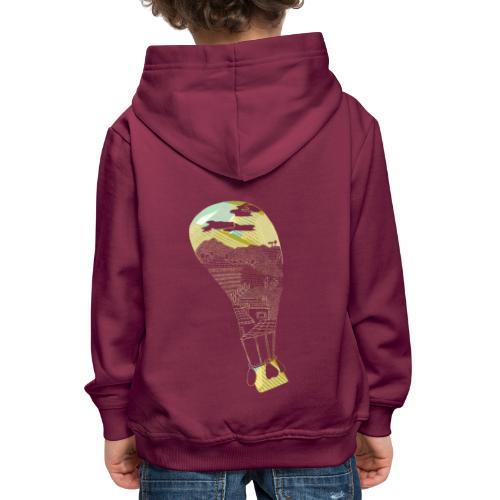 Travel - Felpa con cappuccio Premium per bambini