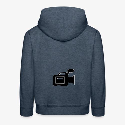 camera - Premium hættetrøje til børn