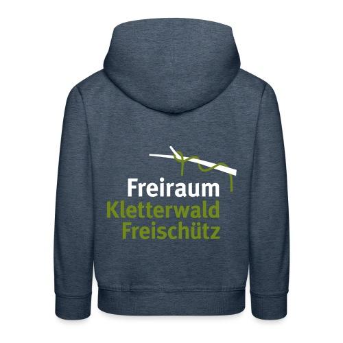 Kletterwald Freischütz Fanshop - Kinder Premium Hoodie
