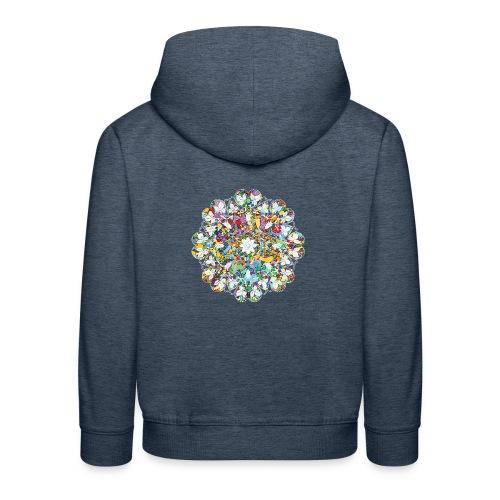 Flower Power - Kids' Premium Hoodie