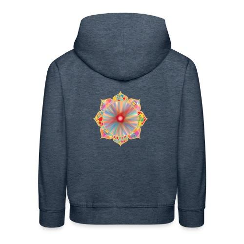 Colored Lotus - Kids' Premium Hoodie