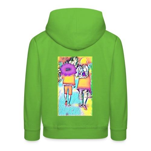 T-shirt wants To escape - Pull à capuche Premium Enfant