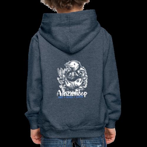 geweihbär Ahrenshoop 2018 - Kinder Premium Hoodie