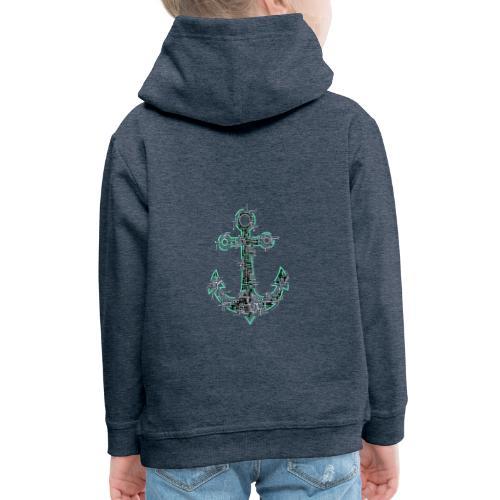 Cyber Anker Tshirt ✅ Elektro Anker Tshirt - Kinder Premium Hoodie