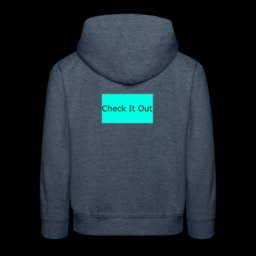 check it out - Kids' Premium Hoodie