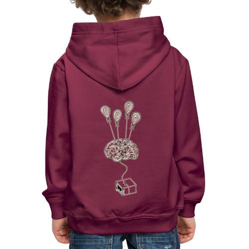 Enjoy a paranoia2 - Felpa con cappuccio Premium per bambini