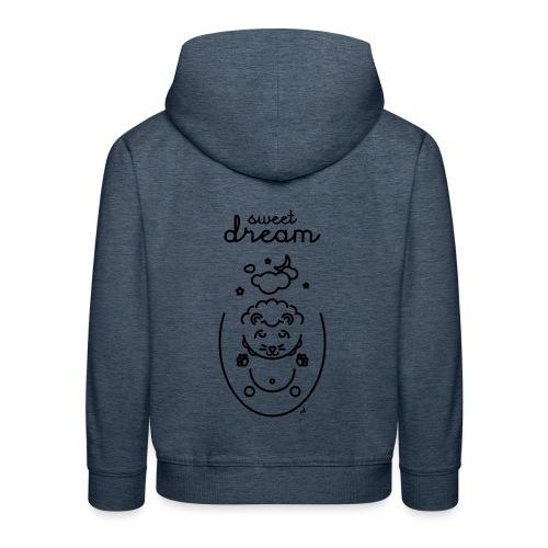 Rêve lion - Pull à capuche Premium Enfant
