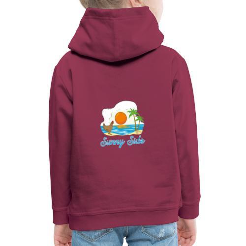 Sunny side - Felpa con cappuccio Premium per bambini